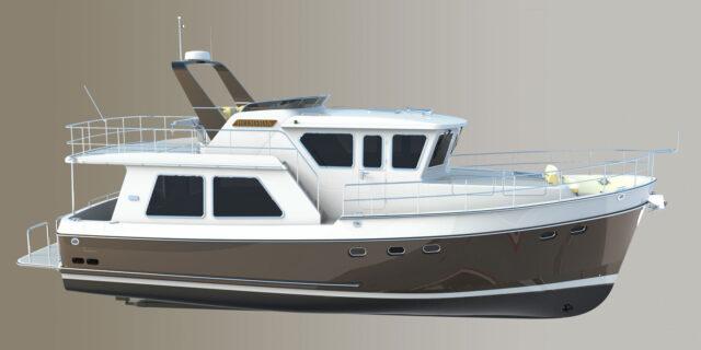 Helmsman Trawlers 46 Pilothouse